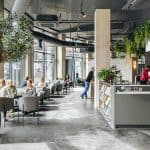 Co-working spaces in Manchester - Colony - bright work area