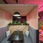 Co-working spaces in Manchester - Worklife-freelance-co-working-spaces-breakout-area