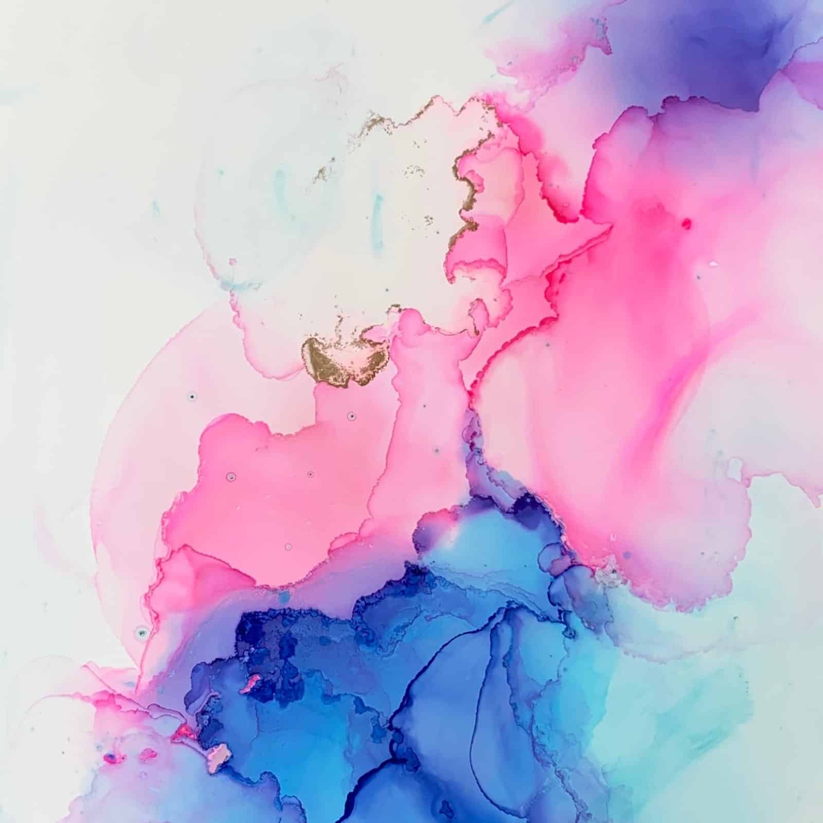 Alcohol Ink Artwork by Song Yu