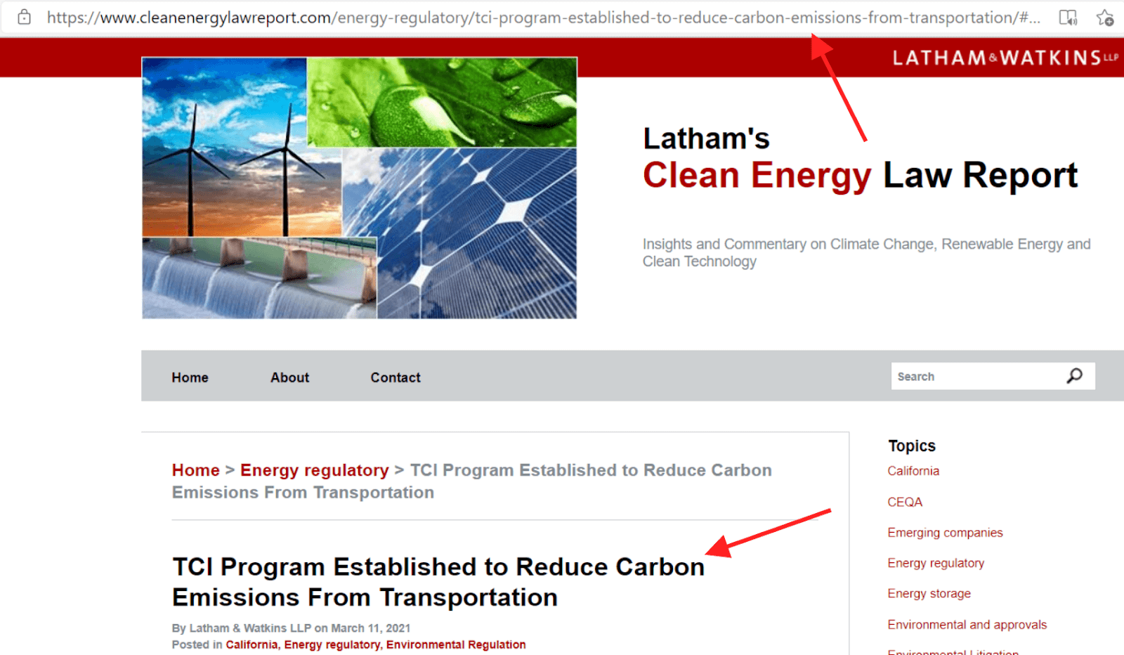 Clean Energy Law Report