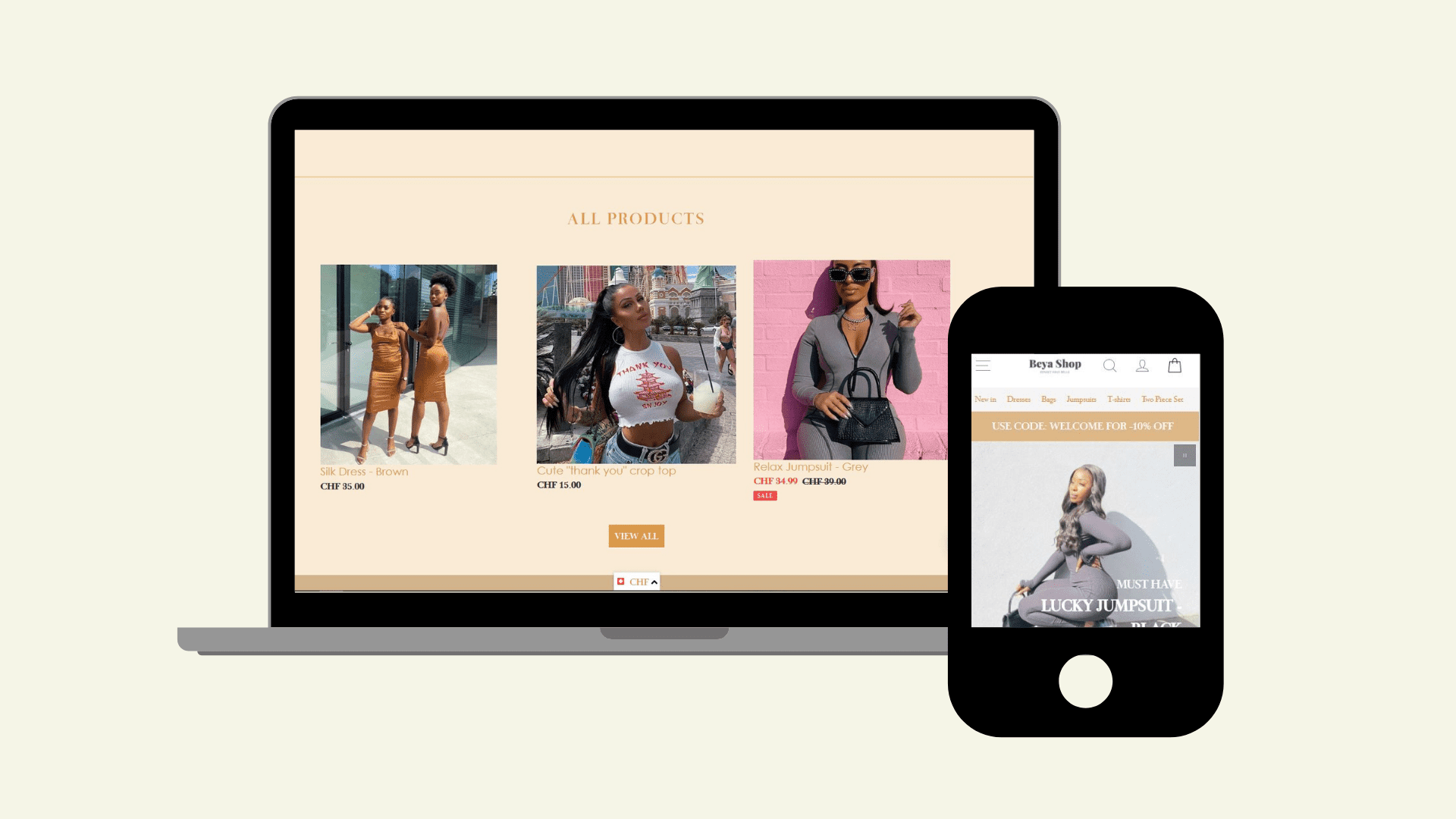 shopify template - projects