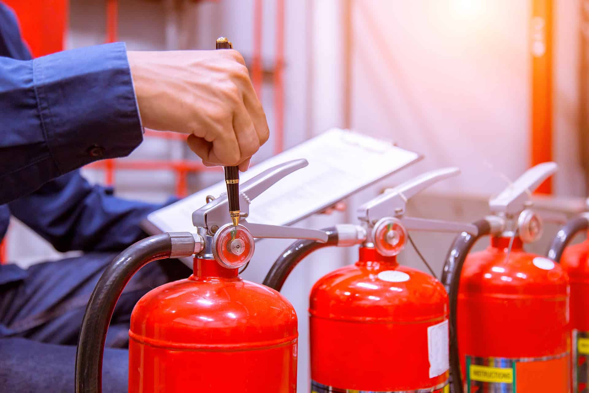 fire and life safety director checking-Industrial fire control system