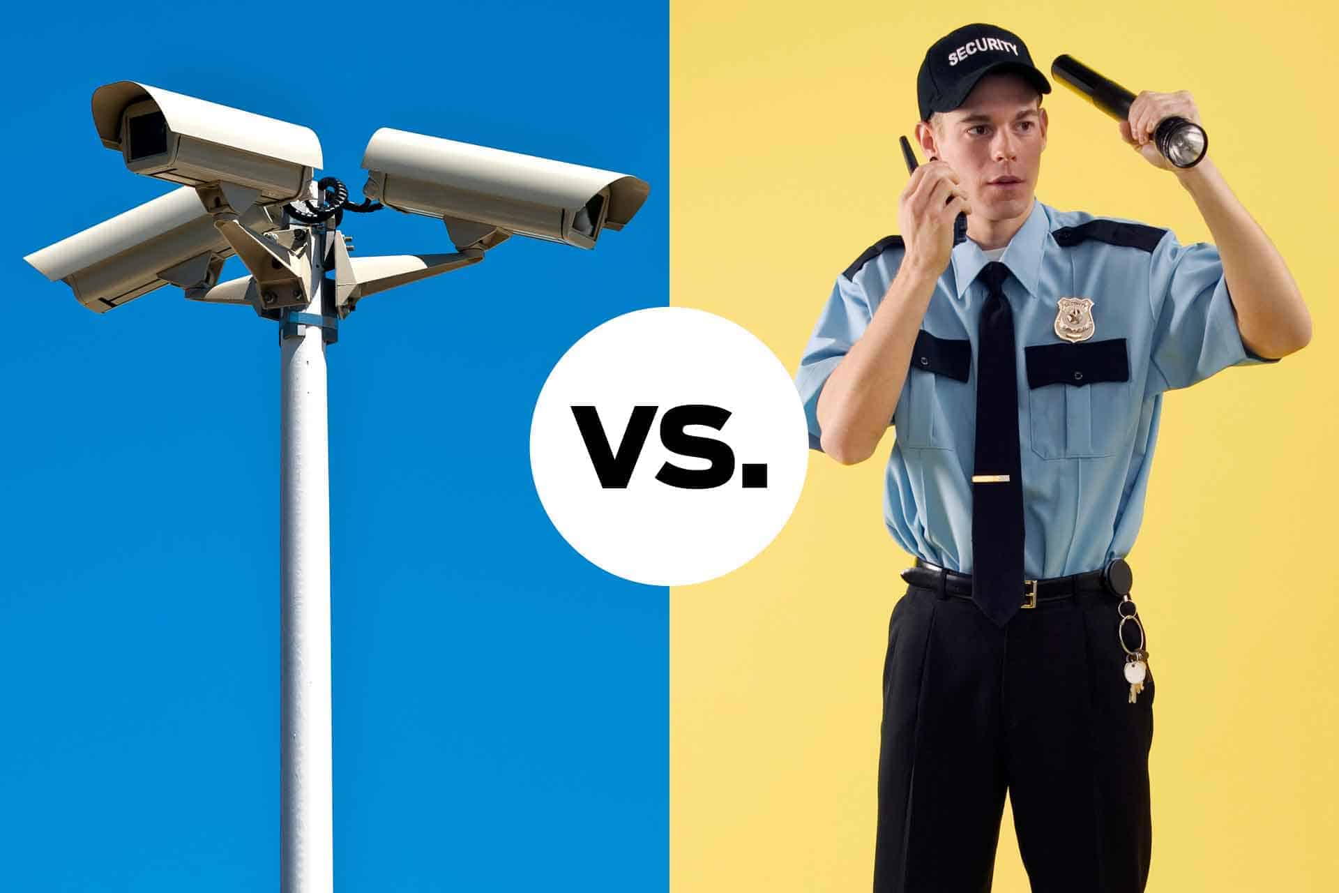 Technology Solutions vs. Trained Security Guards