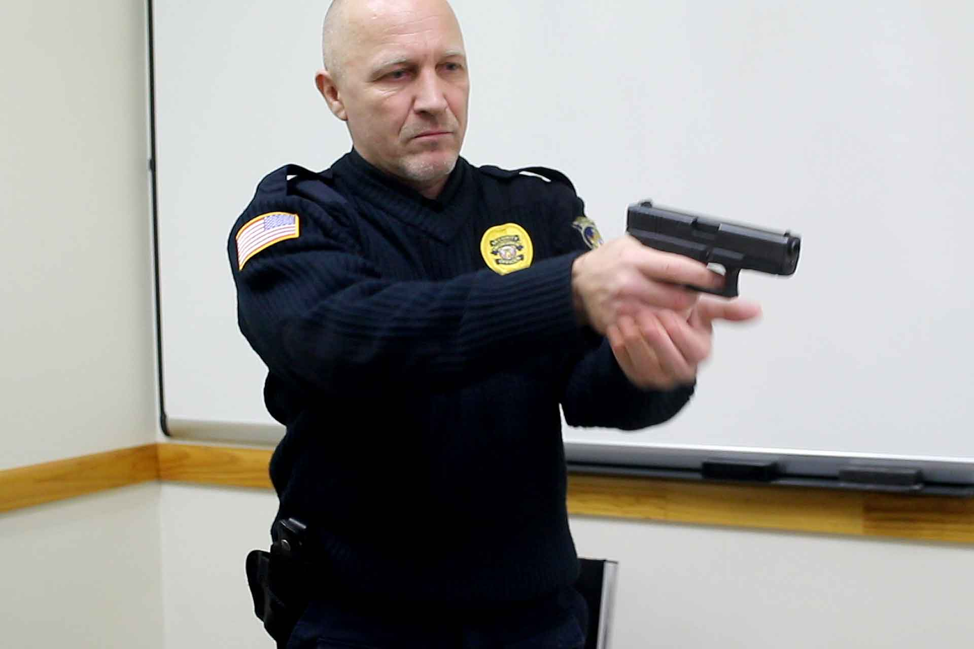 NYC Security Guard armed training