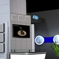 Multimedia for your event booth