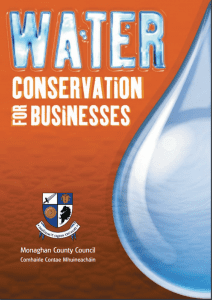 Water Conservation for Businesses