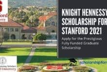 Photo of Knight Hennessy Scholarship for Stanford 2021
