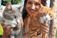 Bettina Bernadowitsch Katzenhoffnung Steiermark - das Paradies für HandiCATs / behinderte Katzen