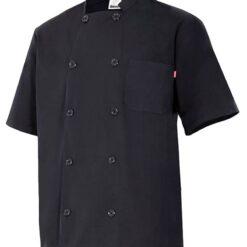 Camisa cozinheiro manga curta Preta