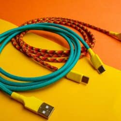 Straight USB Cables