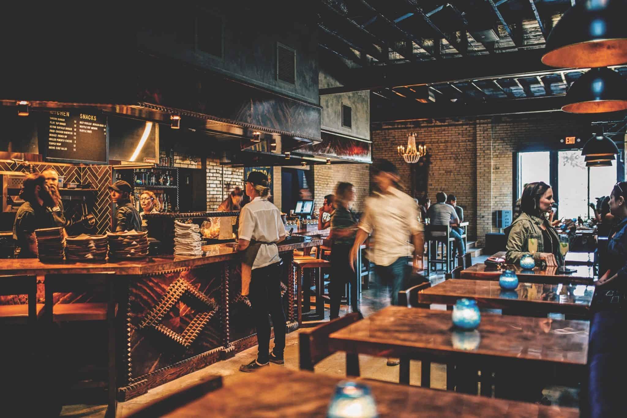 Native Hostel Kitchen Bar.