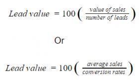 Lead Value Formula