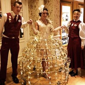 Robe à champagne Réveillon Disneyland Paris
