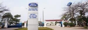 Lắp cửa thép chống cháy Hisung cho Nhà máy Ford