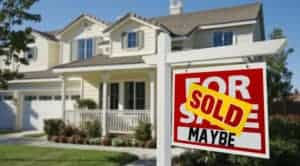 sold sign - Maybe
