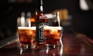 Whiskey and coke; soft drink sales