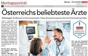 Beliebteste Ärzte Österreichs