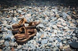 Barfuß-Sandalen