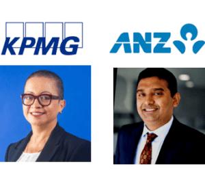 KPMG and ANZ logos