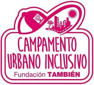 Logotipo Campamento urbano inclusivo Fundación También