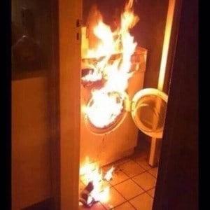 dryer fire