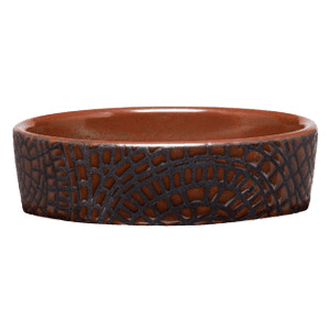 COBBLED LEATHER - SCENTSY DISH ONLY