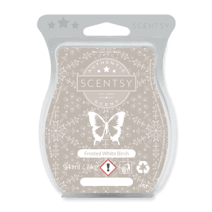 FROSTED WHITE BIRCH SCENTSY WAX BAR