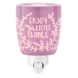 ENJOY THE LITTLE THINGS PLUG IN WAX WARMER FROM SCENTSY