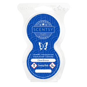 CLEAN BREEZE SCENTSY POD TWIN PACK