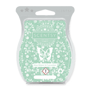 ALOE WATER AND CUCUMBER SCENTSY WAX BAR
