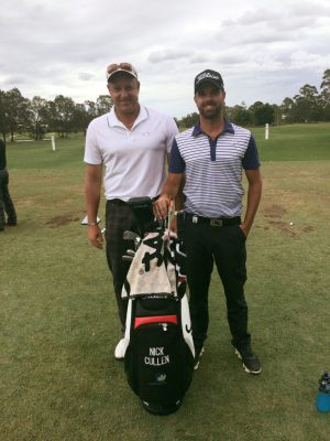 Craig Hanson with Nick Cullen