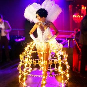 animation événement robe-champagne-robe-coupe-champagne