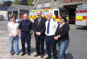 Peterborough Fire Service visits Monaghan