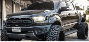 ford ranger with shocks