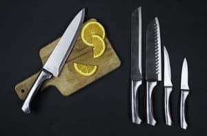 verschiedene Messer-Arten