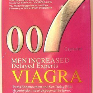 Таблетки для повышения потенции VIAGRA 007 ВИАГРА 007