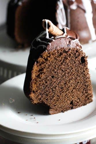 chocolate and tomato soup bundt cake