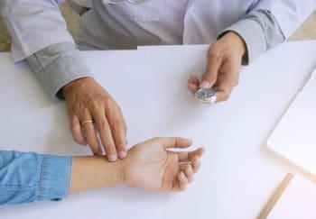 Blutdruck und Puls Messung