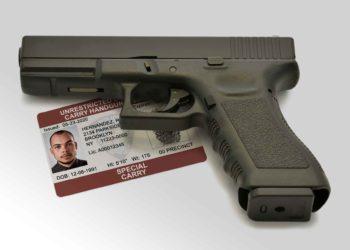 New York carry handgun permit and a hand gun