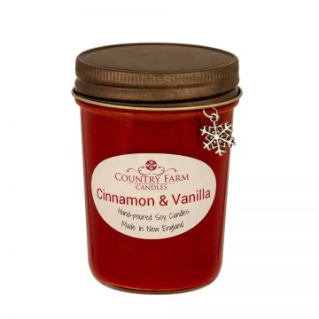 Cinnamon Vanilla Soy Candle