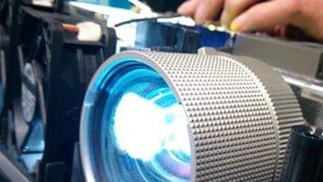 Bild Beamer Reparatur Zentrum lampenwechsel
