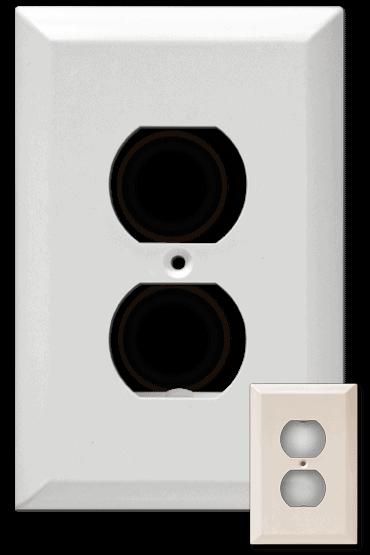 The Cordini Large Flush - White/Ivory Versions