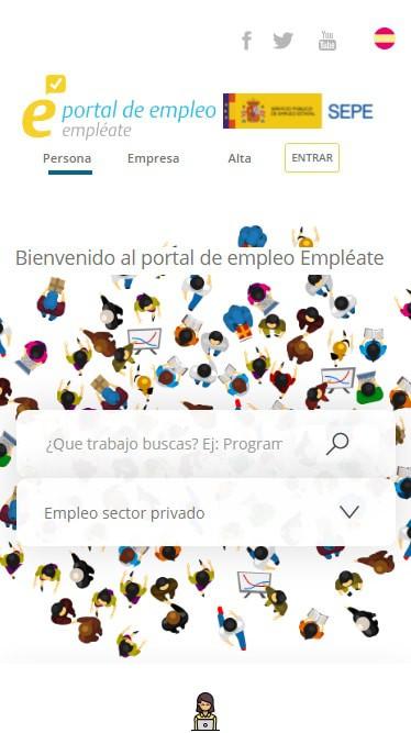 webs para buscar trabajo iCulum Empleate