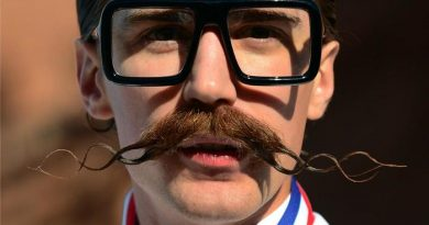 Crazy mustache style - grow a mustache