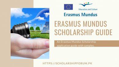 Photo of Erasmus Mundus Scholarship: An Application  Guide