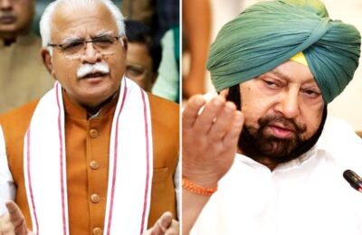 Captain retaliates against Khattar, says it is not Punjab but BJP that is responsible for farmers' anger