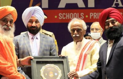569 schools honored with state level awards during 'Fap State Award-2021'
