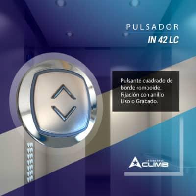 Pulsador IN 42 LC