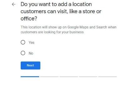 GMB - add location