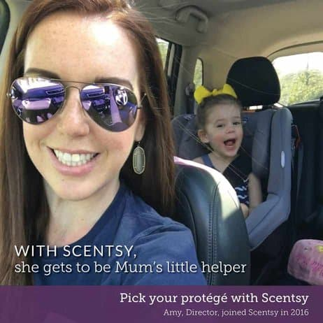 Work Scentsy around your Family Life